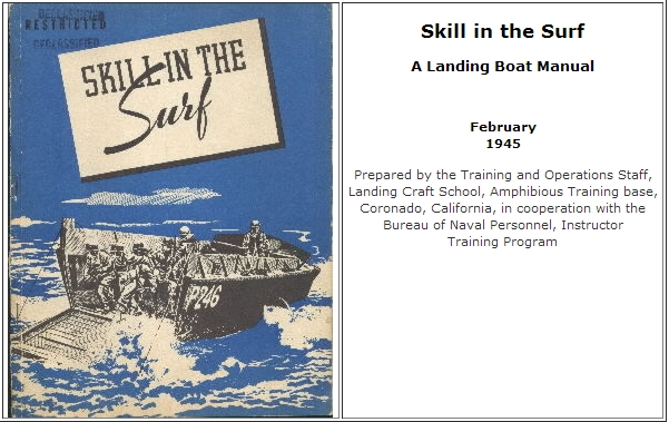 Skill in the Surf - A Landing Boat Manual - February 1945