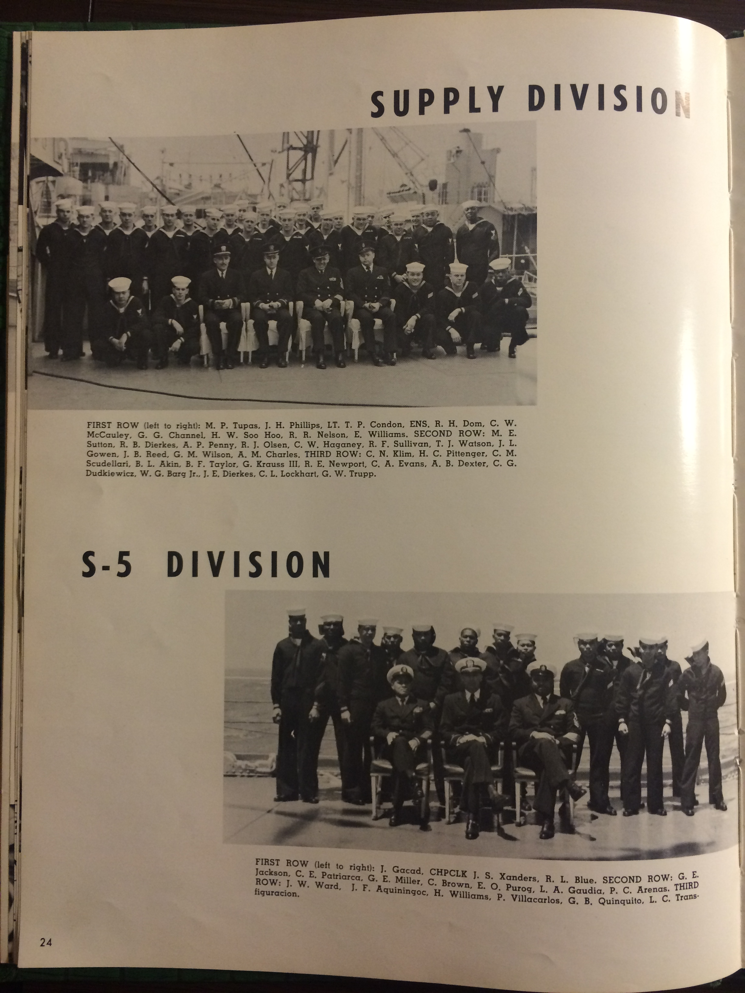 USS Calvert 1956 - Sixth Far East Cruise Book - 023