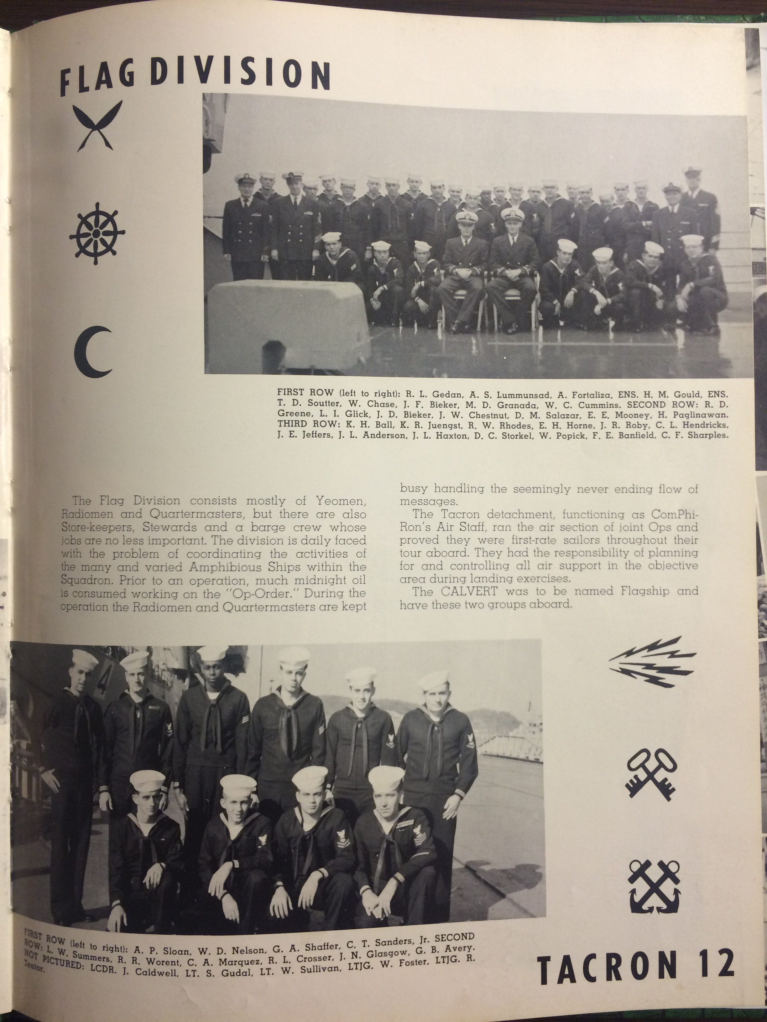 USS Calvert 1956 - Sixth Far East Cruise Book - 030